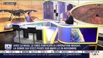 Mars: le CNES participe à l'opération Insight avec la NASA - 21/12