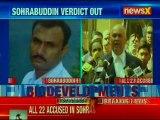 Sohrabuddin Verdict: Substantial evidence not presented, says court