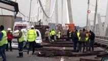Yavuz Sultan Selim Köprüsü'nde Zincirleme Trafik Kazası 1 Ölü, 2'si Polis 3 Yaralı