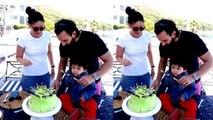 Taimur Ali Khan Enjoy Birthday with Kareena Kapoor Khan & Saif Ali Khan| Boldsky