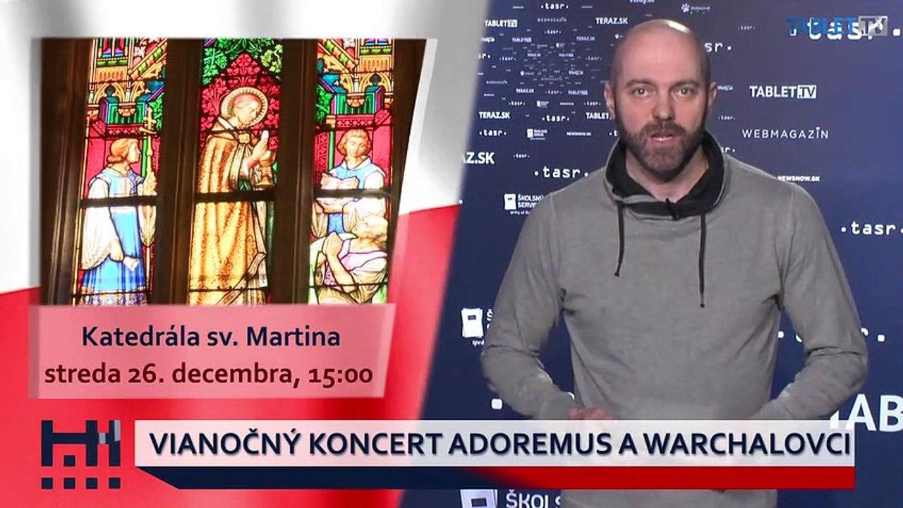 POĎ VON: Vianočný koncert Adoremus a Warchalovci