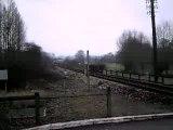 Train SNCF Corail BB 67000 ligne Rouen-Dieppe