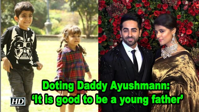 Doting Daddy Ayushmann says, 'It is good to be a young father'