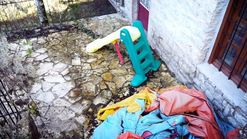 """Ερημωμένο το σπίτι του """"Χαμόγελο του Παιδιού"""" στο Μεγάλο Χωριό Ευρυτανίας"""