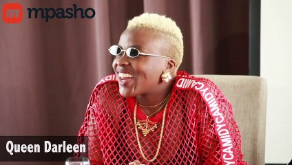 'Who has ever seen my boyfriend?' Queen Darleen ask Kenyan journalist