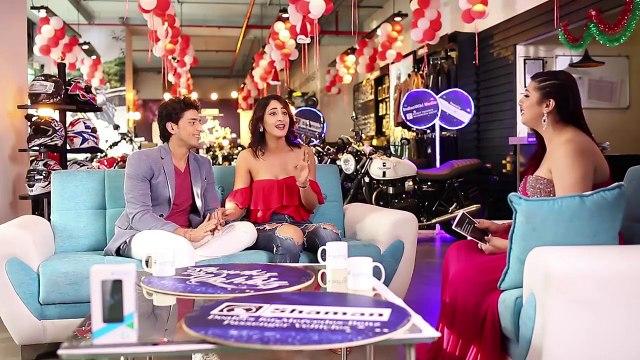 Promo 2: Episode 10 of ShowbizwithVahbiz featuring adorable couple Kinshuk Vaidya & Shivya Pathania