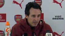 Arsenal head coach Unai Emery looks ahead to meeting Burnley in the Premier League