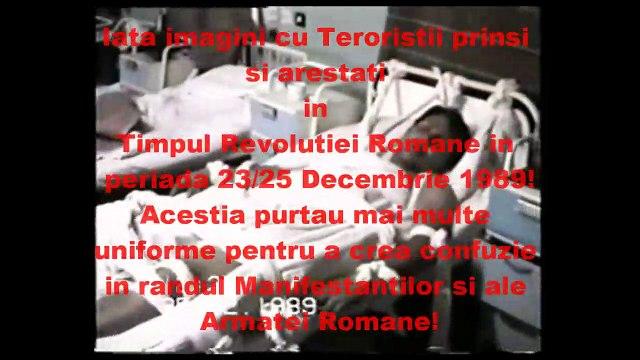Teroristii din Decembrie 1989 - Revolutia Anticomunista din Romania