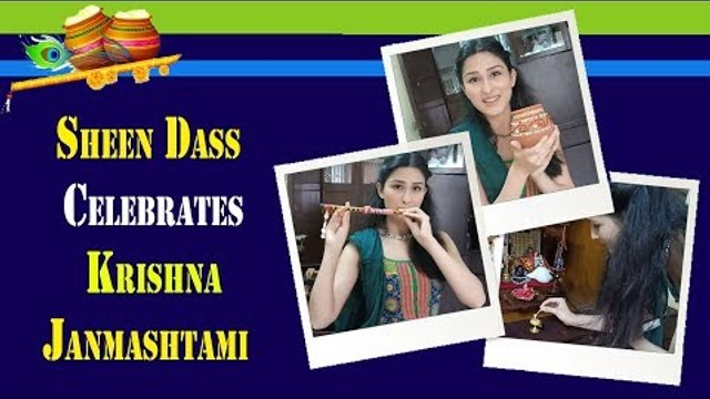 Sheen Dass celebrates Krishna Janmashtami