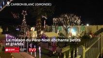 Carbon Blanc, la maison du Père-Noël enchante petits et grands