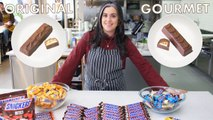 Pastry Chef Attempts to Make Gourmet Snickers