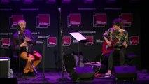 Concert A L'improviste, avec Fabrice Villard, clarinette, textes et voix, et Christelle Séry, guitare.