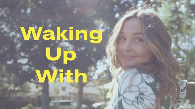 Camilla Luddington's Morning Involves Two Dogs, One Baby, and Kitchen Beauty Hacks