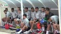 Séance d'entraînement de l'EN A' avec la présence de Bounedjah et Belaili
