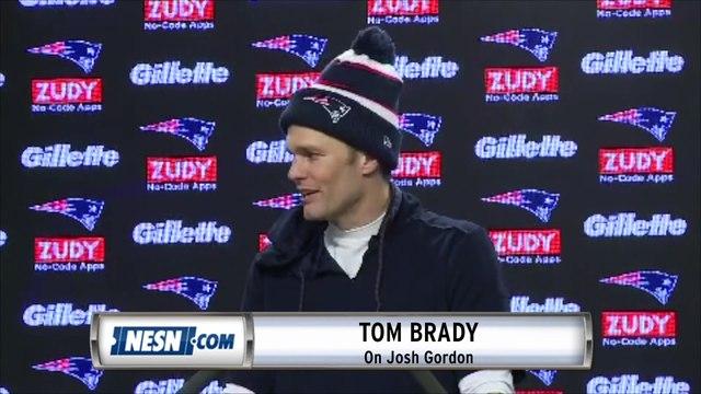 Tom Brady, Rob Gronkowski react to Josh Gordon suspension