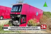 Sutran: moderno centro monitoreará buses en todo el país