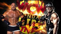 Hollywood Hogan (c) vs. Goldberg WCW World Heavyweight Title Match WCW Monday NITRO
