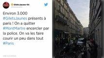 Paris : les gilets jaunes se donnent rendez-vous à Montmartre pour un « acte 6 »
