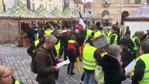 Gilets jaunes : la manif va démarrer à Besançon