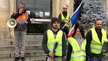 Rassemblement des Gilets jaunes pour le référendum d'initiative citoyenne