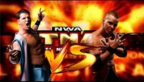 AJ Styles (w/Mortimer Plumtree) (c) vs. The Amazing Red NWA TNA X Title Match NWA Total Nonstop Action