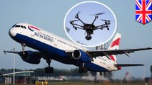 Holiday chaos as rogue drones shut down Gatwick Airport