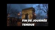 Sur les Champs-Élysées, la fin de l'acte VI des gilets jaunes était tendu