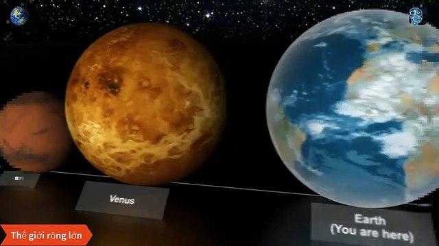 Hãy xem để thấy Trái Đất nhỏ bé như thế nào trong vũ trụ - Thế Giới Thật Rộng Lớn - Vũ Trụ Bao La Vô Tận