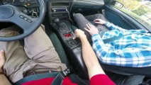 Driving a Ford Turbo Coupe for the first time