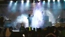 Dramatic video shows tsunami crashing into rock concert