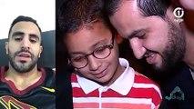 Riyad Mahrez réalise de reve d'un petit enfant