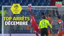 Top arrêts Ligue 1 Conforama - Décembre (saison 2018/2019)