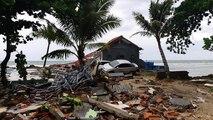 Cunami Indonéziában, jégeső Ausztráliában