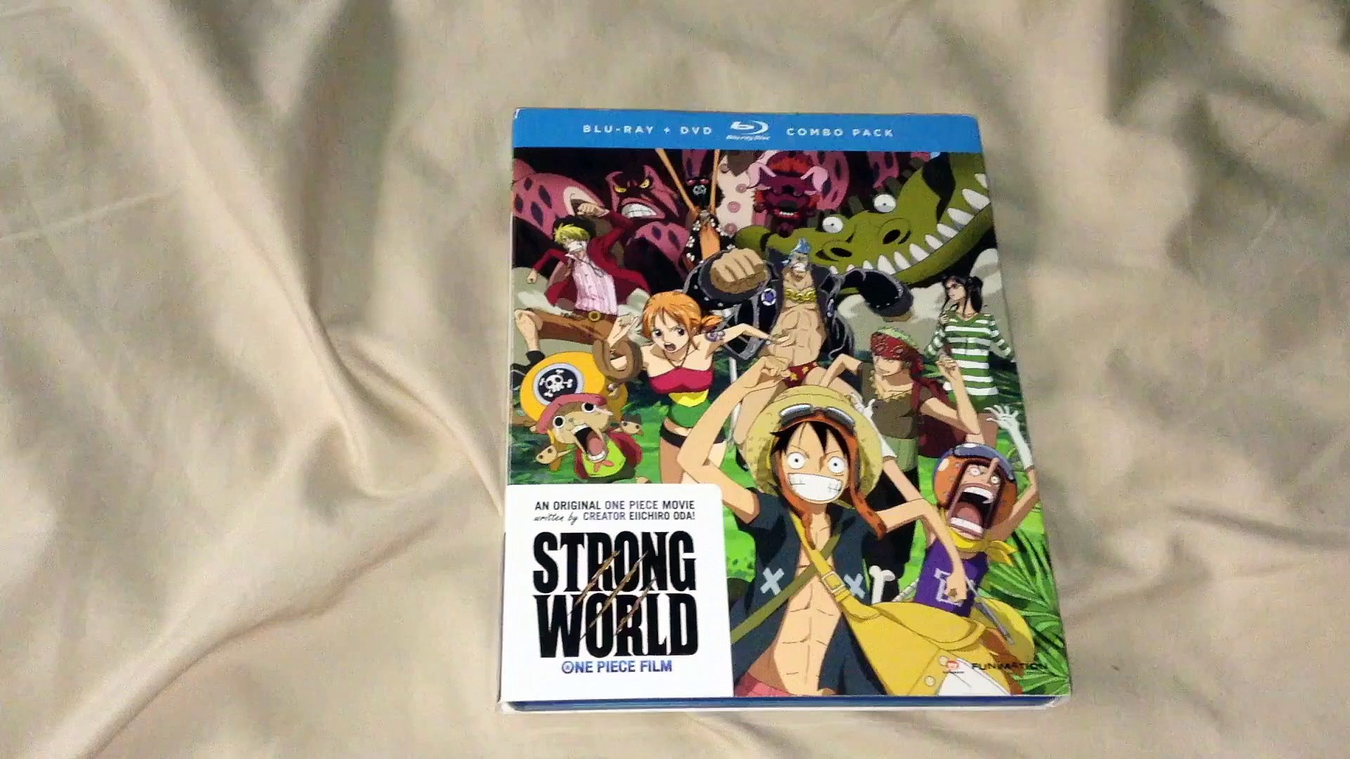 One Piece Film Strong World Blu Ray Dvd Unboxing Video Dailymotion
