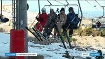 Pyrénées-Atlantiques : premières glissades sur la neige pour les vacanciers