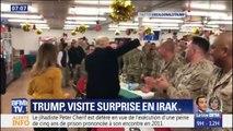 Donald Trump: sa visite surprise aux soldats américains en Irak
