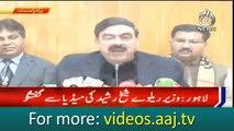 Sheikh Rasheed offers COAS to run Army train