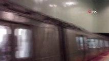 M2 Yenikapı-Hacıosman Metro Hattında Arıza Meydana Geldi