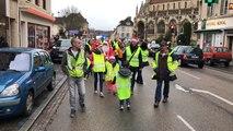 Marche de Noël des Gilets jaunes