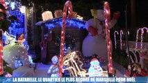 Insolite : La Batarelle,le  quartier le plus décoré de Marseille pour Noël