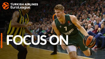Focus on Thomas Walkup, Zalgiris: 'I feel like I'm learning a ton'