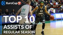 7DAYS EuroCup, Top 10 Assists of Regular Season!