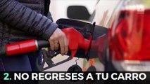 5 cosas que nunca deberías hacer mientras llenas el tanque de gasolina