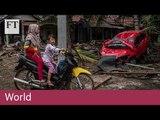 Indonesia tsunami kills 222 and injures hundreds — eyewitness footage