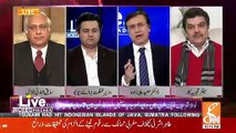 Mubashir Luqman Comments On Shahid Masood Being Present In Courts In Cuffs..