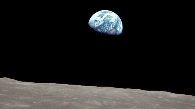 Apollo 8 Crew & Chris Hadfield on the Photo that Changed the World