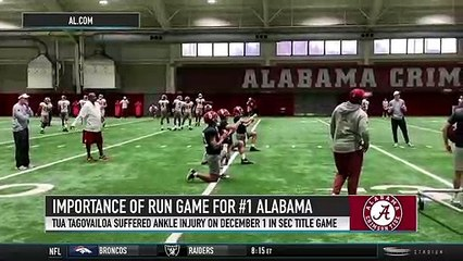 Brett McMurphy on the Importance of Alabama's Run Game Against Oklahoma