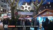 """Comme un défi et pour dire """"non"""" au terrorisme, le marché de Noël de Strasbourg ne désemplit pas - Témoignages"""