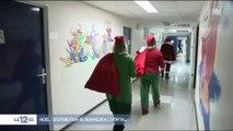 VIDÉO - Joyeuses fêtes : à l'hôpital, le Père Noël a aussi distribué des cadeaux