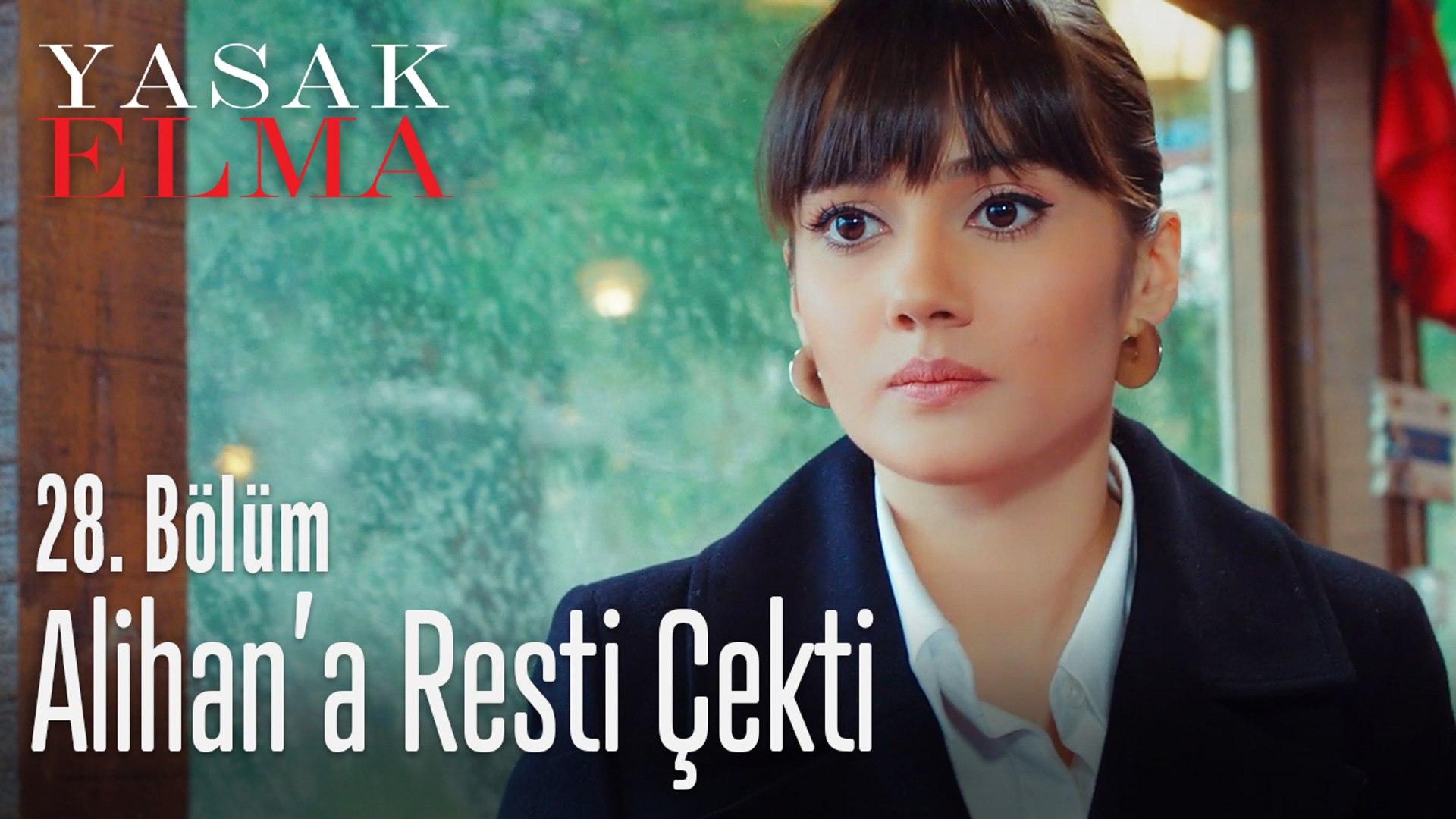 Zeynep Alihan'a resti çekti - Yasak Elma 28. Bölüm